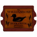 """Cabin"" Series Vintage Signs - Wood Duck Vintage Cabin Sign"