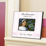 Personalized First Communion Picture Frame - God Bless the Children