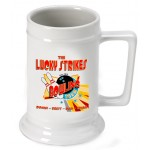 Personalized 16 oz. German Beer Stein - Bowling Team
