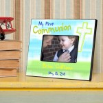 Personalized First Communion Picture Frame - Bright Blessings