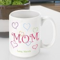 Personalized Mother's Day Coffee Mugs - GC786 Mom's Love