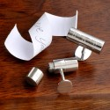 Personalized Secret Agent Cufflinks