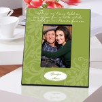 Personalized Green In Our Hearts Memorial Picture Frame