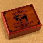 Cabin Series Humidors - Moose Humidor