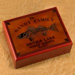 Cabin Series Humidors - Walleye Humidor
