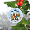 Personalized Christmas Ornaments - Reindeer Family Ornament