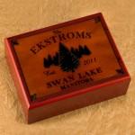Cabin Series Humidors - Spruce Humidor