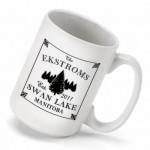 Cabin Series Coffee Mug - Spruce Coffee Mug
