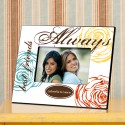 Colorful Bouquet Forever Friends Picture Frame