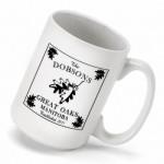 Cabin Series Coffee Mug - White Oak Coffee Mug