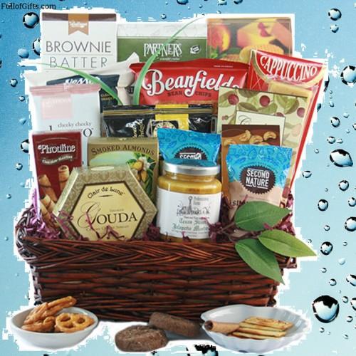 First Class Gourmet Gourmet Gift Basket