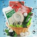 Golf Nut Golf Gift Basket