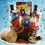 Texas Round Up Texas Gift Basket