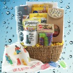 Cat and Mouse Cat Gift Basket