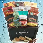Coffee & Nutella Coffee Gift Basket