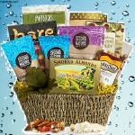 Guiltless Pleasures Healthy Gift Basket