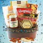 Here's to You Food Gift Basket