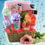 Pamper Me Pink Spa Gift Basket