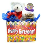 Birthday Teddy Bear Cookie Bouquet 6 or 12 Gourmet Cookies