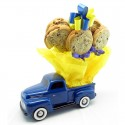 Ford F- 1 Pickup Truck Gift Bouquet - 6 or 12 Gourmet Cookies