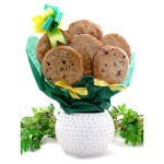 Golf Ball Cookie Planter - 6 or 12 Gourmet Cookies